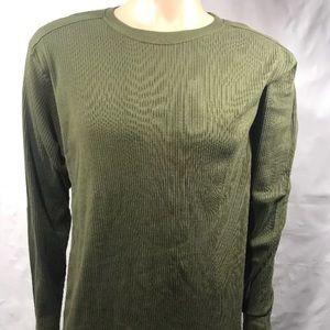Ferruche XL Green 100% Cotton Long Sleeve